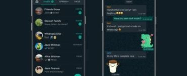 1583438778 WhatsApp enables dark mode for all users on its last
