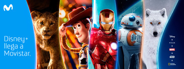Disney+ will be included free of charge in Movistar Fusion Plus Fiction and Total Fusion: all prices