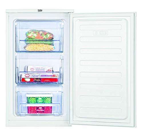 Beko FS166020 Mini freezer, under counter, 65 litres, Steel, White