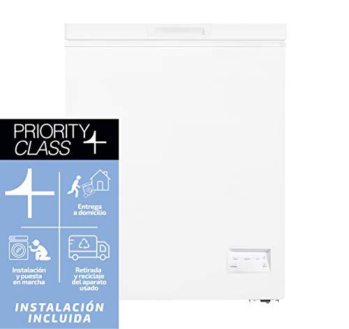 Sauber - Horizontal Freezer SCHD-100 - DUAL function - Energy efficiency: A+ - Width: 54,5 cm - 100 litres - Colour White