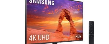 1585227212 Entertainment is assured with the Samsung UE43RU7405 a modern 43 inch