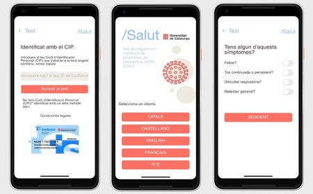 Stop Covid-19 Cat from the Catalan Health Service, the first app launched
