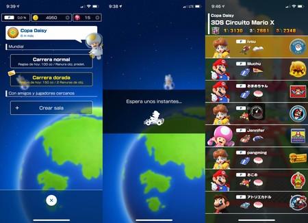 Multiplayer Mario Kart