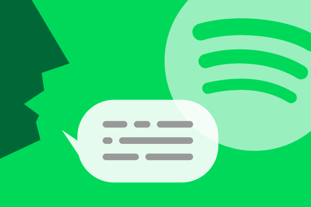 the popular music app tries a voice assistant for hands free