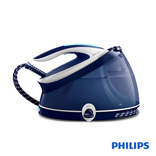 Philips GC9324/20 Steam Station 2.5L T-ionicGlide Blue, White - Ironing Centre (6.5 bar, 2.5L, 440 g/min, 120 g/min, T-ionicGlide Blue, White)