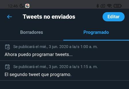 Twitter Programming Tweets