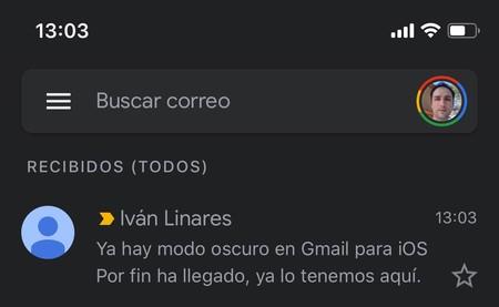 Gmail Dark Mode Ios