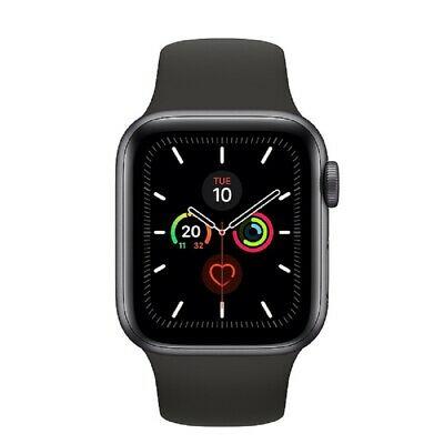 Quickly! Apple Watch Series 5 GPS 40mm MWV82 Gray Aluminum Black Box Sport Band