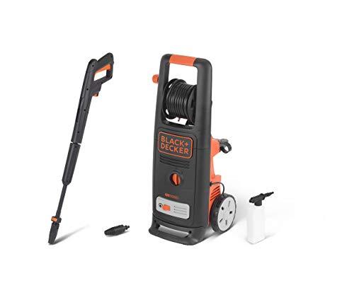 Black+Decker BXPW2200E High Pressure Cleaner, 2200 W, Orange and Black