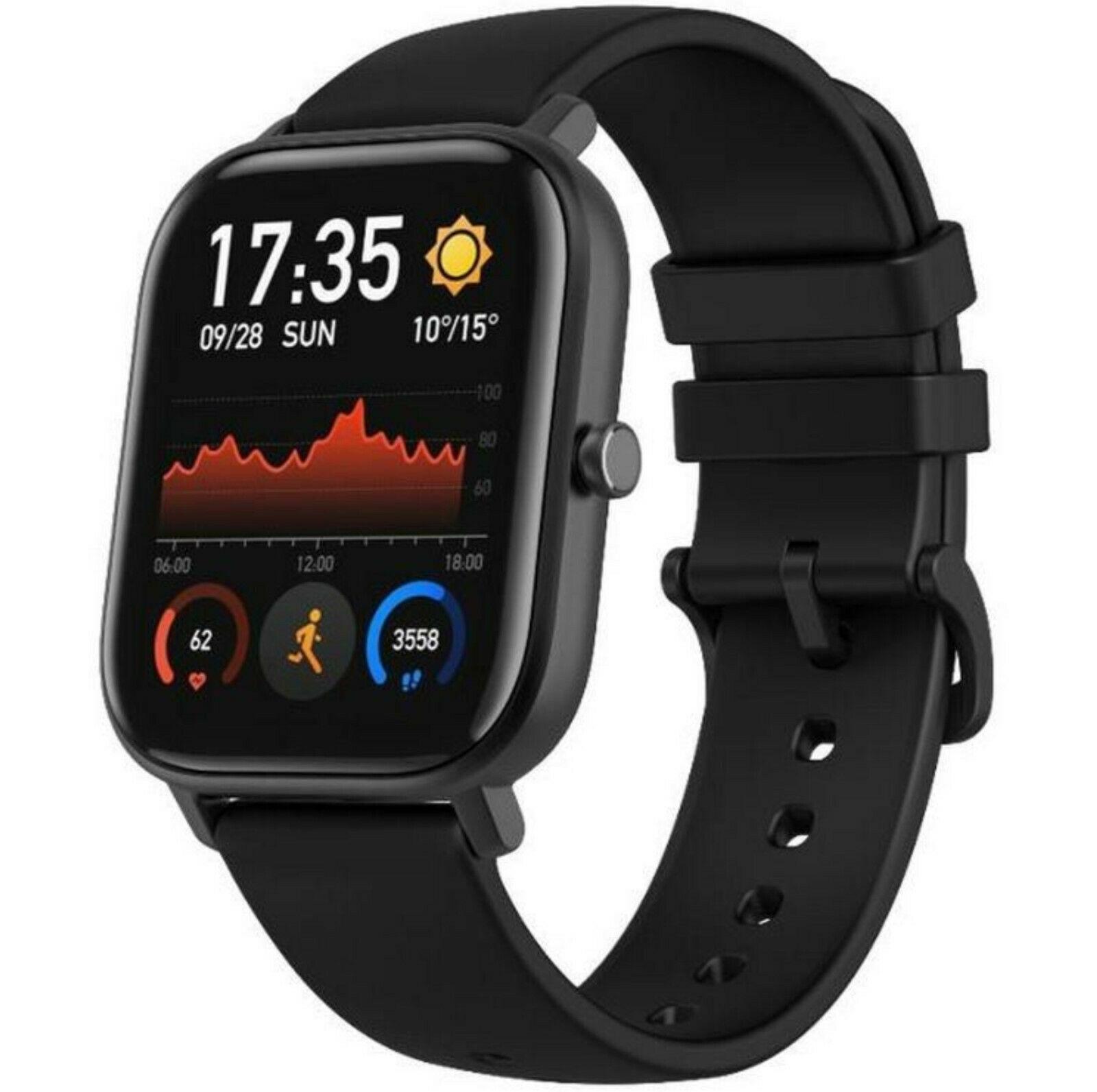 Huami Amazfit GTS Obsidian Black Smart Watch