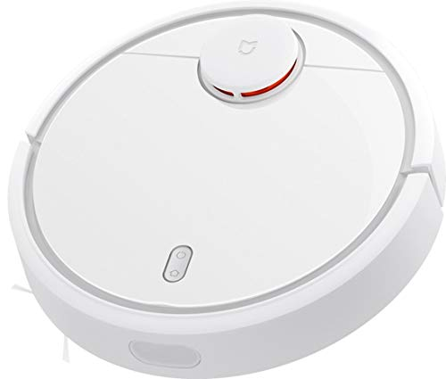 Xiaomi SDJQR02RR - Robotic Vacuum Cleaner, Self-Loading, Super Strong Suction, White