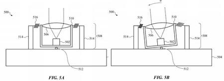 Apple Airdrop Laser Patent