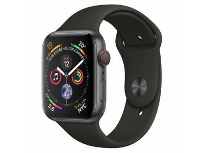 Apple Watch Series 4 GPS + Cellular 40mm Aluminum Space Gray Sports Strap