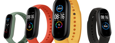 The new Xiaomi Mi Band 5 has just arrived in Spain and today you can buy it cheaper at Plaza: for 32,65 euros and free shipping