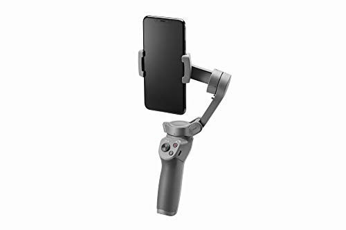 DJI Osmo Mobile 3, 3 Axis Stabilizer for Smartphone Compatible with iPhone and Smartphone, Android, Lightweight and Portable design, Stable recording, Intelligent Control