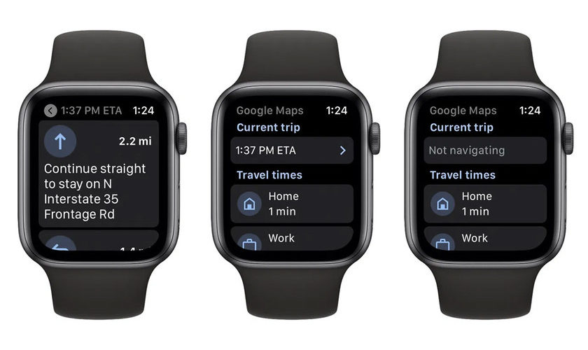 1600136850 Google Maps now available from an Apple Watch