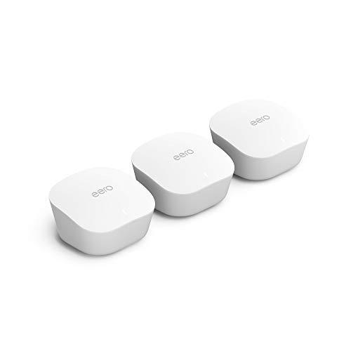 Introducing the Amazon eero wifi mesh system: 3 units