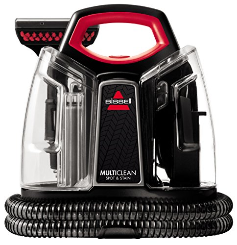 Bissell 4720M Spot & Stain Cleaner Stain, 300 W, 2.5 Litres, 74 Decibels, Plastic, Black, Red