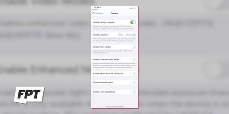 capture iPhone 12 Pro Max lidar