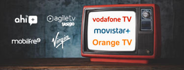 Comparison of the television of Movistar, Vodafone, Orange, Yoigo, Virgin and others: channels, price and advantages