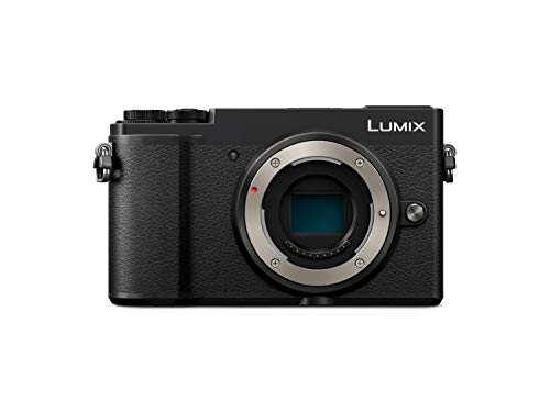 Panasonic Lumix DC-GX9 - 20.3 MP EVIL Camera (5 Axis Optical Stabilizer, Flip-up Viewfinder, 4K, RAW, Wifi), Lens-less, Black