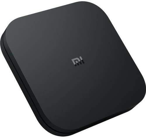 Xiaomi MI TV BOX S - Ultra HD 4K streaming player, Bluetooth, Wi-Fi, Google Assistant with Chromecast, Black