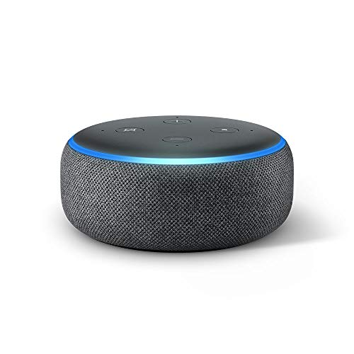 Echo Dot (3rd generation) - Smart speaker with Alexa, anthracite fabric