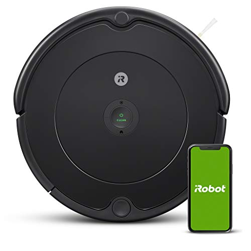 iRobot - Robot vacuum cleaner Roomba 692 Wifi, for carpets and floors, Dirt Detect, 3 stage cleaning system, Smart Home and App control, Custom suggestions, Voice assistants support