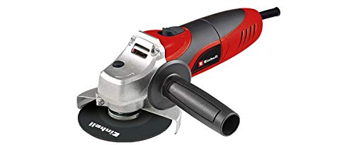 Einhell 4430619 TC-AG 125 - Radial angle, 125 mm diameter, without cutting disc, 850 W, 230 V, red and black
