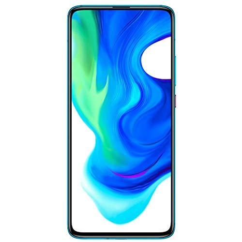 """Xiaomi Poco F2 Pro - Smartphone 6.67"""" (5 G Super AMOLED Screen, 1082 x 2400 pixels, Qualcomm SM 8250 Snapdragon 865, 4700 mAh, Quad Camera, 8 K Video, 6 GB/128 GB RAM), Neon Blue [EU version]"""