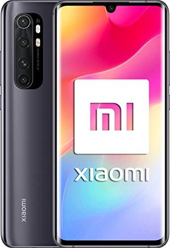 "Xiaomi My Note 10 Lite (FHD+ Display 6.47""6GB + 64GB; 64MP camera, Snapdragon 730G, Dual 4G, 5260mAh with 30W fast charge, Android 10) Black [versión española]"