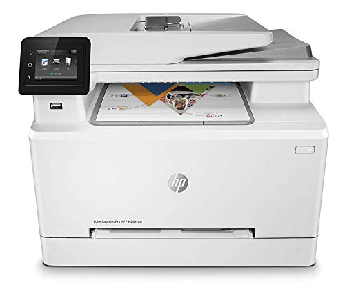 HP Laserjet Pro MFP M283FDW Laser Printer (8.5 x 14 Inch, USB), White, Small