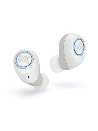 JBL Free X Wireless Bluetooth Noise Canceling Headphones - JBL Signature Sound - 24h Continuous Music and Smart Charging Case - White