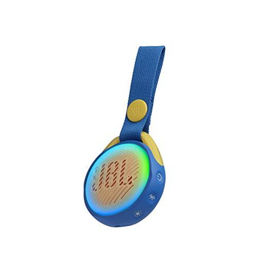 JBL JR POP Kids Optimal Portable Wireless Bluetooth Speaker, 5h Playtime, Water Resistant, Blue