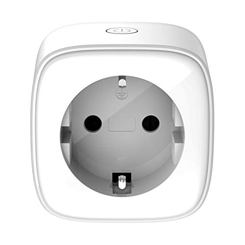 D-Link DSP-W118 - Mini Wi-Fi Smart Plug compatible with Alexa and Google Home, control devices anywhere using free mydlink app