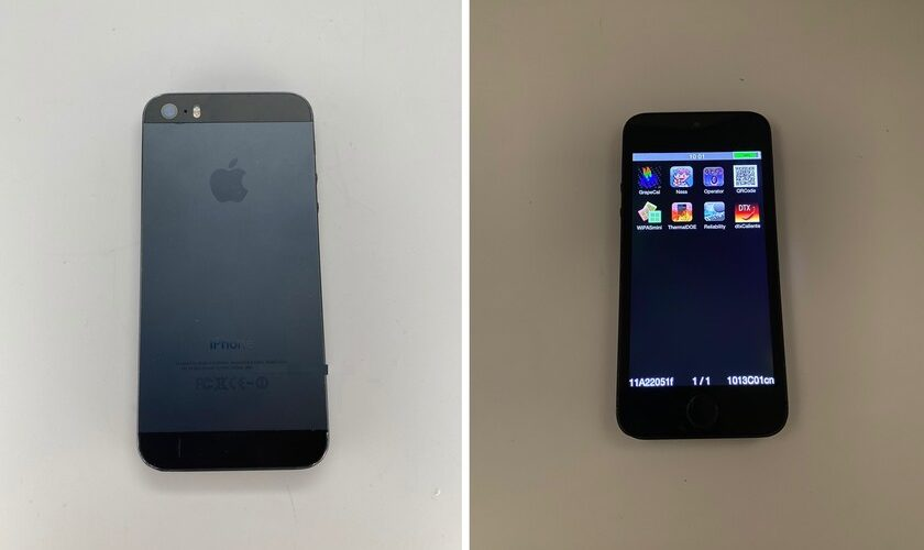 1610972494 This prototype iPhone 5s in graphite was already ready in