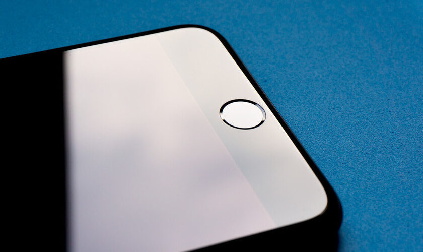 A Touch ID sensor may appear under the screen of