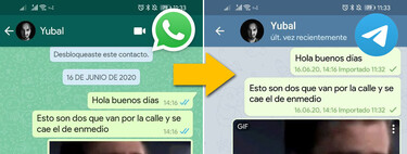 How to import WhatsApp chats into Telegram with an Android mobile