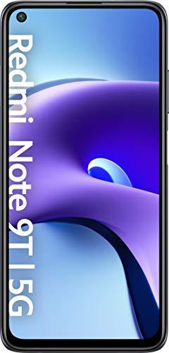 "Xiaomi Redmi Note 9T 5G Smartphone - 5G Processor MediaTek Dimensity 800U RAM 4GB ROM 128GB 48MP Triple Camera 6.53 ""FHD + DotDisplay 5000mAh (typ) Battery Black [Versión Global]"