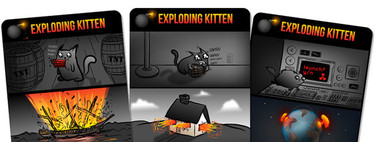 Exploding Kittens, the Oatmeal spreads the internet with cats, letters and crowdfunding