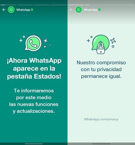 Whatsapp States Advertising