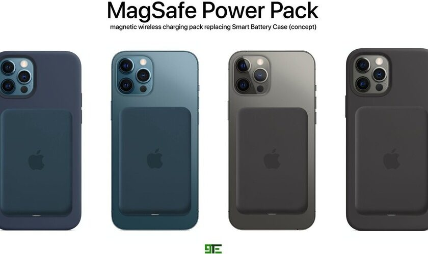 1615010893 Apples MagSafe Power Bank for iPhone 12 Will Have Bi Directional