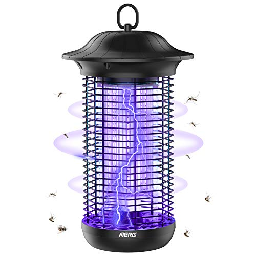 Aerb 18W Electric UV Anti Mosquito Lamp, LED Mosquito Trap Lamp, 4000V High Voltage Power, Kill Mosquitoes, Flies, Moths, for Home