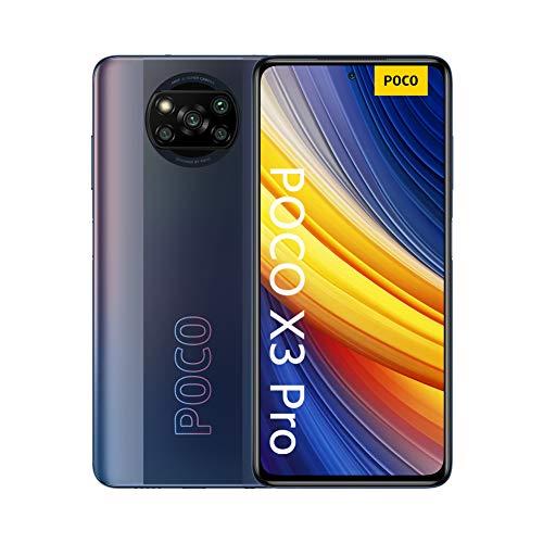 "Poco X3 Pro Smartphone RAM 6GB ROM 128GB 120Hz 6.67"" FHD + LCD DotDisplay 5160mAh (typ) Battery 48MP Camera Black [Versión en Español]"