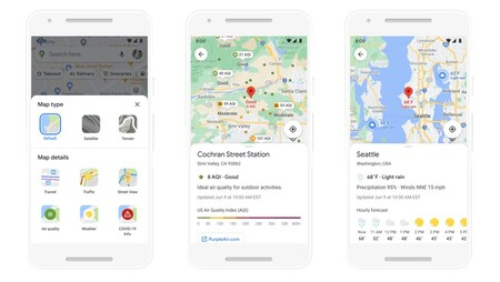 Air Quality Google Maps