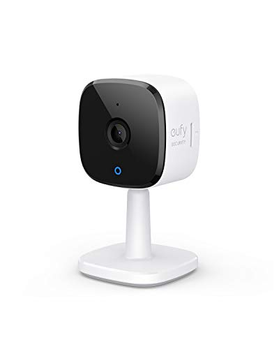 eufy Security 2K Indoor Plug-in Surveillance WIFI IP Camera, with WLAN Function, People Recognition, Voice Assistant, Motion Sensor, Night Vision, HomeBase No Need