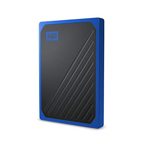 WD My Passport Go 1TB External Solid Hard Drive - Cobalt Finish
