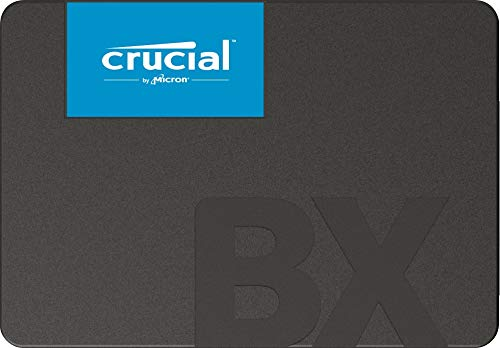 Crucial BX500 240 GB CT240BX500SSD1 Internal Solid State Drive, up to 540 MB / s (3D NAND, SATA, 2.5 Inch)