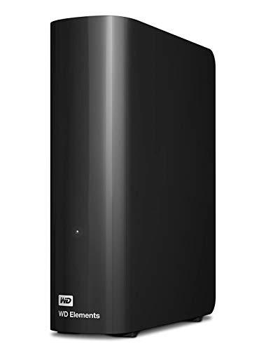 WD Elements Desktop 12TB Black Desktop External Hard Drive