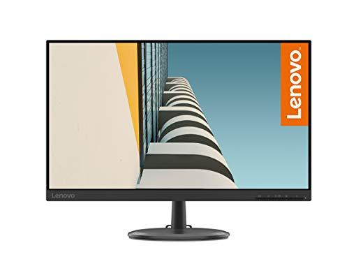 "Lenovo C24-25 - 23.8 Monitor"" FullHD (1920x1080 pixels, 16: 9, 75Hz, 4ms, 1000: 1, VGA + HDMI ports, 3 sides, borderless) Color Black"